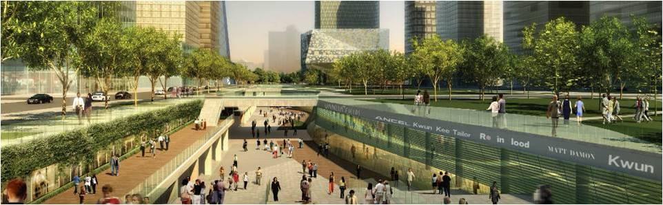 北京CBD核心区地下空间交通市政基础设施工程