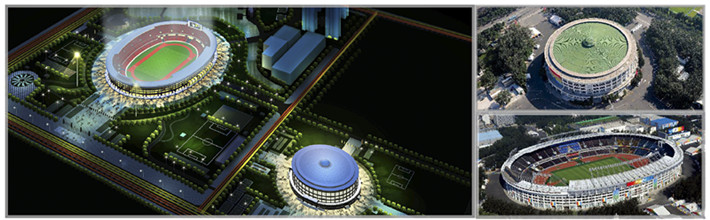 工人体育场、工人体育馆改造工程